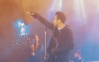 اجرای زنده آهنگ دریا نمیرم گرشا رضایی